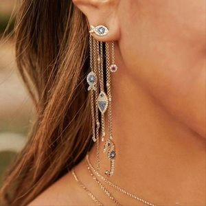 10k GP Pave Under-The-Sea Earrings